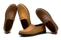 free shipping 2014 Popular Mens, Men Shoes Flat Genuine Leather Driving Moccasins Slip On men's shoe Men footwear casual shoe
