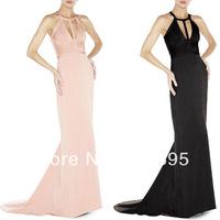 Top Quality Sexy Grace Long Maxi Floor Length HL Newest Bandage Dress Chiffon Prom Summer Party Wedding Bride Bridesmaid Wear HL