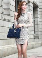 HOT 2014   fashion Women's handbag, diamond-shaped ,  5  colors  Shoulder   bag briefcase SIZE  SMALL