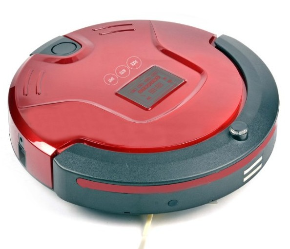 Fully-automatic charge home smart robot vacuum cleaner clean ultra-thin mute white red(China (Mainland))