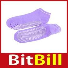 bitbill Women Non Slip Dance Yoga Pilate Socks Sock W  Massage Dots Hot