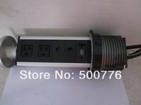 2014  Hot-sale   Pulling Desk  Socket with US Power