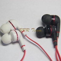 New Arrival fashion style in-earphone super bass earphone with Microphone free shipping