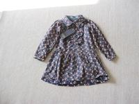 CS4031 Girls kids  Cotton print  small flower blouse Kids  blouse dress