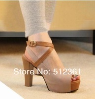 2014 new platform women's pumps Fashion sexy high-heeled shoes thin heels party dress shoe women's shoes