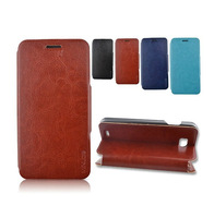 High Quality PU Leather Case for V987 V967S Case Cover with screen protector