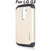 2014 New Gold Korean Style Tough Armor SLIM ARMOR SPIGEN SGP Case Back Cover for LG Optimus G2 D801 F320,Without Retail BOX