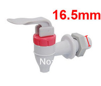 White Red Push Type Plastic Replacement Water Dispenser Tap Faucet