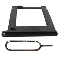 Free Shipping  100pcs Sim Card + eject pin Tray Holder for iPhone 3GS
