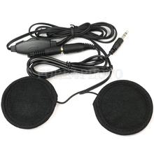 Motorbike Motorcycle Helmet Headset Stereo Speakers Volume Control for MP3/4 Radio iPod(China (Mainland))