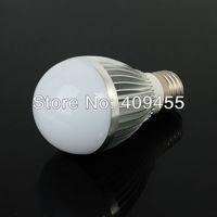 Wholesale (10pieces/lot) E27 AC85-265V Led Bulb 3w 4w 5w 6w 7w 9w Warm White light /White light LED Lighting Bulb Lamp