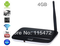 Free shipping Jesurun DX05 Quad core Mini pc tv box set top box Android 4.2  Google TV Player