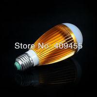 Wholesale (10pieces/lot) AC85-265V Led Bulb E27 9w 7w 6w 5w 4w 3w White light/Warm white light LED Lamp Bulb