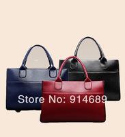 The new European and American big-name fashion handbags hand shoulder bag ladies bag women Messenger bag simple