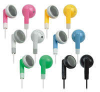 Lovely fruit color in-ear headphones/earphone/headset,Used in advertising promotion,gift,wholesale1000pcs/lot