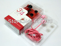 Europe and the United States hot sell in-ear headphones,with retail packaging,wholesale100pcs/lot