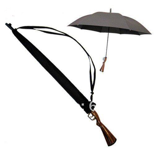 wholesale 20 pcs Rifle Umbrella Gun Umbrella ( 100cm )(China (Mainland))