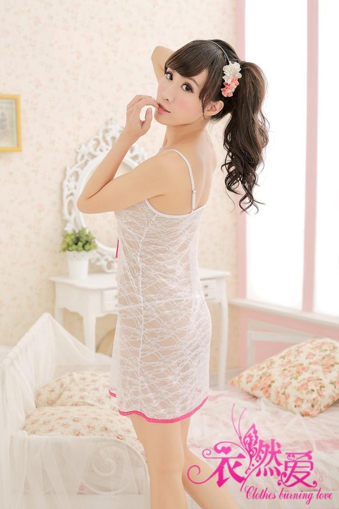 Clothing factory direct princess sling burning love sexy lingerie sexy pajamas Pyjamas 9819(China (Mainland))