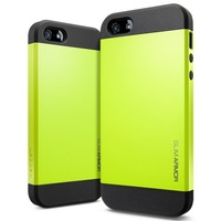 10colors Original Korean SGP SPIGEN Slim Armor Durable TPU Back Shell Carrying Cases Cover For iPhone5 i Phone 5 5S