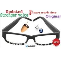 GSM Bluetooth Glasses With  Wireless Earpieces mini earpiece 305 earpiece 205