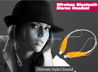 2014 New Arrival Wireless Bluetooth Stereo Headset Neckband Style HBS730 For iPhone LG Yellow SV000705 A1