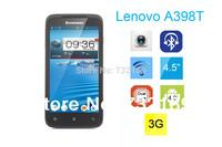 4.5inch Lenovo A398T IPS SC8825 Dual core Dual SIM phone Android 4.0 WIFI 5.0MP camera RAM 512M Rom 4GB Original Phone