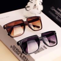 New arrival 2014 female large square optical frame vintage Aviator sunglasses men women's sun glasses designer brand