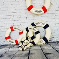 Free Shipping, Creative Mediterranean Home Decoration, Life Buoy, Swimming Laps, Wall Actcork Hoop, Wall Hang Decoration Gift