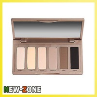 2014 New hot Naked BASICS 6 color Eyeshadow palette Makeup Eye Shadow palettes 3 Color set Free Shipping