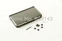 silver Console Full Housing Shell Case Repair Parts +Tool for Nintendo 3DS XL/3DS LL