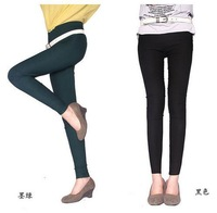 2014 New Fashion  Women Bright  Candy Colors High Waist Slim Leggings