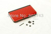 Mario red Console Full Housing Shell Case Repair Parts +Tool for Nintendo 3DS XL/3DS LL