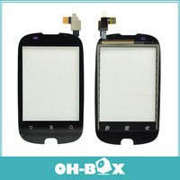 100% Original For HuaWei Ascend Y 100 U8185 Touch Screen Digitizer Black Free Shipping