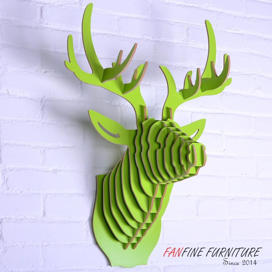 Fanfine Furniture Animal Deer Head Modern Stylish Fashion Art ...
