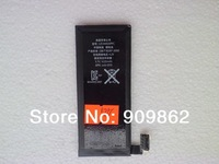 Wholesale 10pcs Free Shipping 100% High Quality 100% Full Capacity Mobile Phone Battery for iPhone 4G