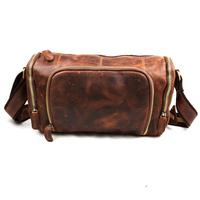 2014 genuine leather man travel bag ,vintage cowhide cross body shoulder bags casual bag JB349