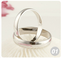 Wholesale fashion jewelry 30pcs sterling silver fashion beautiful rings size 8-11