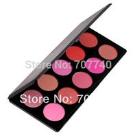 Dropshipping 96sets  2014 new fashion professional 10 Colors blush makeup palette,  powder blush makeup, blusher palette