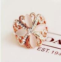 Free Shipping!2014 Accessories Quality Rhinestone Personalized Elegant - eye Elegant  Ring Gift