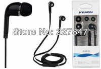HY-WP1101 Earphone with Microphone flat wire control Universal Headphone super bass PVC