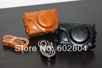 Wholesale! xf1 camera bag cover bag imitation leather case for Fuji X-F1 XF1 camera case leather bag High quality