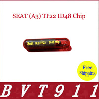 2014 Hot Promotion Product Car Key  Glass Chip SEAT (A3) TP22 ID48 Chip 10 Pcs Per Lot Free Shipping  SEAT (A3) TP22 ID48 Chip