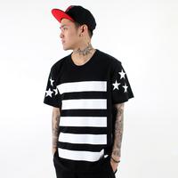 free shipping summer cool skateboard fashion  personalized street bboy hiphop hip-hop hiphop dancer short-sleeve tee shirt