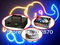 2000mW 2W FULL COLOR RGB ILDA DMX DJ Stage Laser Light PT40KPPS high speed Scanner+1.1ishow software+10m ILDA cable