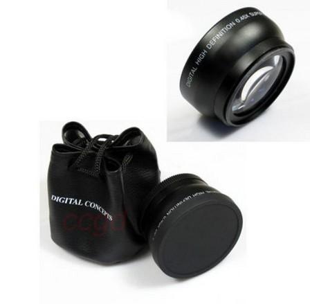 Объектив для фотокамеры 58mm 0.45 x Nikon Canon EOS 58mm 0.45x объектив для фотокамеры nikon s2600 s3100 s4100 s4150