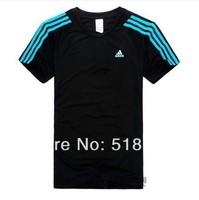 Summer Mens tee classic short sleeved T-shirt leisure sports