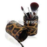 High Quality 7pcs brush kits brush set with round case