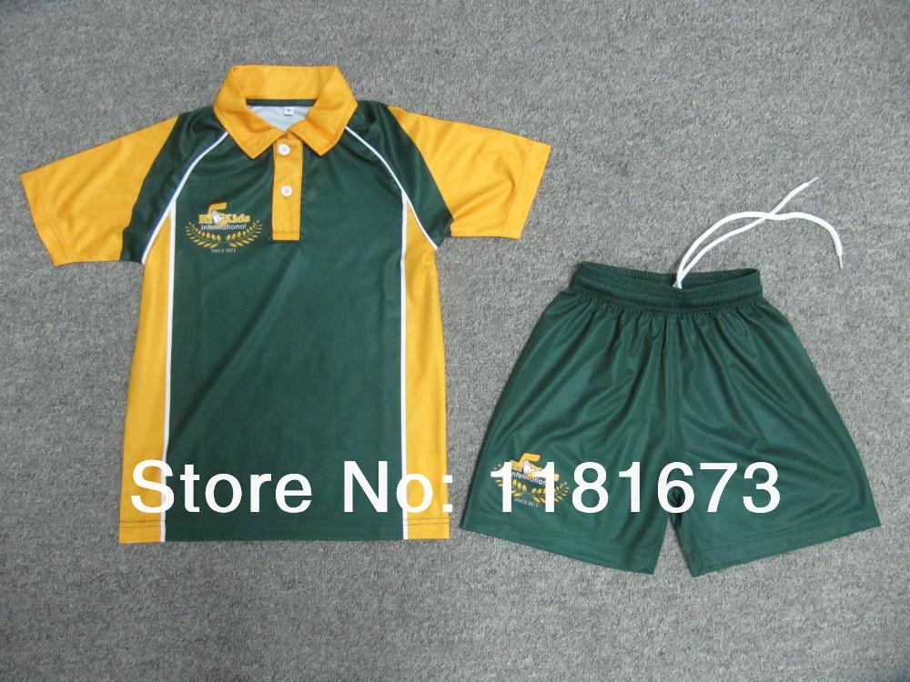 high quality custom made soccer uniform football shirts(China (Mainland))