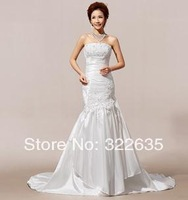 The new 2014 senior lace that wipe a bosom Packet buttock fishtail wedding ceremony