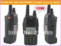 2014 March New Arrival FDC FD-890 Plus 10Watt UHF 400-470MHz Professional FM Transceiver